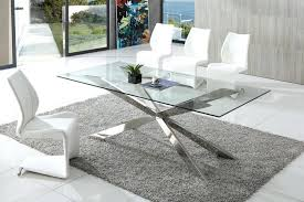 Italian Glass Dining Room Tables Fascinating On Rustic To Awesome