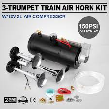 Train Air Horn Kit W/12V 150PSI Air Compressor Universal Sound ... Kleinn Sdkit730 Demon Triple Train Horn Kit Complete Installation Hornblasters Airchime K5 540 Kits For Trucks My Lifted Ideas System For 092014 Ford F150 And Svt Raptor Velo220 Universal Complete Air System With Compressor Tank Horn Mpc M1 Review Best Horns Unbiased Reviews Velo230 Zone Tech Air Dual Trumpet Truck Loud 44 Similar Items Three Separate Huge Trumpets 12volt 150 Psi Hornblasters On Twitter One Hell Of A Fordtrucks Superduty Amazoncom 12v Premium Quality