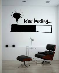 Idea Loading Wall Stickers Light Bulb Lamp Window Car Diy Sticker