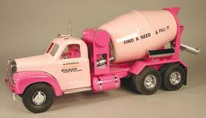 Smith Miller, Toy Truck, Kaiser Sand & Gravel Concrete Mack Truck