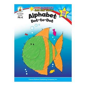 Alphabet Dot-To-Dot Home Workbook