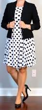 post maternity black u0026 white polka dot dress black suit