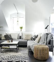salon avec canapé gris salon canape gris tapis gris salon qui rend latmosphare aclacgante