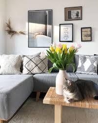 lilly liebt blumen katze wohnzimmer kissen couc