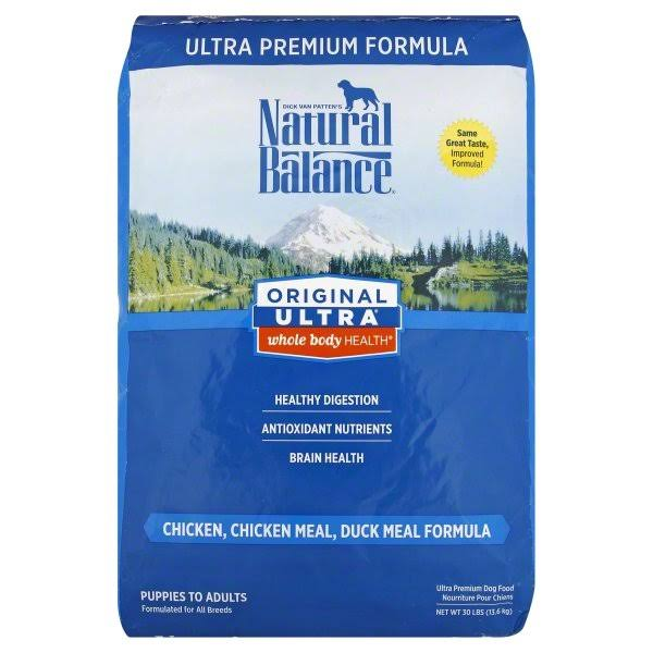 Natural Balance Original Ultra Dog Food - Chicken