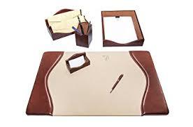 parure bureau parure de bureau en cuir parure bureau fabriquée en italie