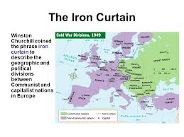 Who Coined The Iron Curtain by The Cold War Intro Mr Dodson At The End Of Wwii Conflicting