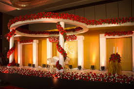 Wedding Reception Stage At Hotel Crowne Plaza