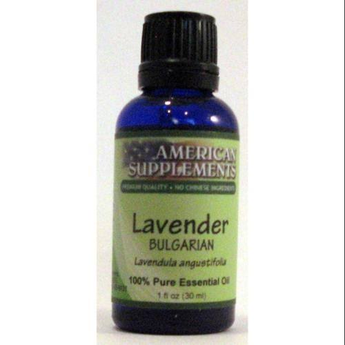 Lavender (Bulgarian) Essential Oil American Supplements 1 oz Oil