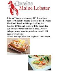 100 Cousins Maine Lobster Truck Menu Images Tagged With Cousinsmainelobster On Instagram