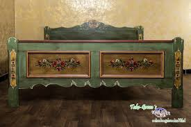 voglauer anno 1800 altgrün doppelbett ehebett