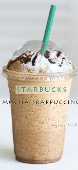 Starbucks Mocha Frappuccino Recipe Pin