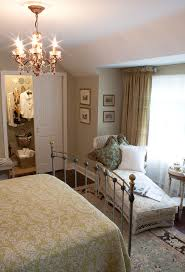 Beautiful Iron Daybed In Bedroom Traditional With Wrought Bed Ideas Next To Burlap Curtain Alongside Corner Curtains And