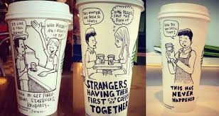 Starbucks Coffee Cup Drawings