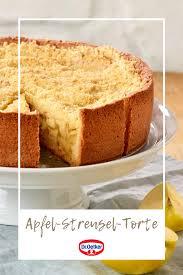 apfel streusel torte rezept kuchen rezepte einfach