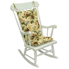 100 Jumbo Rocking Chair Gripper Omega Ivory Cushion Set 849307xl