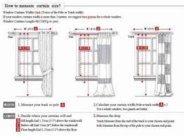 Material For Curtains Calculator by Measuring Windows For Curtain Fabric Savae Org