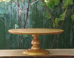 20 Inches Shiny GOLD Wedding Cake StandRustic Gold StandCustom Sturdy