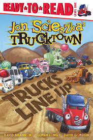 Trucks Line Up | Book By Jon Scieszka, David Shannon, Loren Long ... Book Truck A Day Magazine Five Cars Stuck And One Big Truck Book By David Carter 1022 How To Track A Jason Eaton John Rocco My Walmartcom Penguin Mobile Bookstore To Hit The Road This Summer Roger Priddy Macmillan Driver Theory Test Bus Food Truck Las Vegas 360 Book Of Trucks At Usborne Books Home First 100 Trucks Board Toysrus Noisy Fire Sound