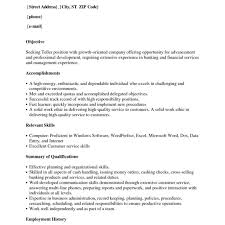 Objective For Cashier Resume Examples Part Head Grocery