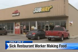 Subway Forces Sick Employee To Keep Working - Eater Breaking Pappy Van Winkle Delivery Truck Accidentally Delivered Doniphan Used Vehicles For Sale Subway Forces Sick Employee To Keep Working Eater 2007 Mitsubishi Fuso Fe140 Stk 0c6214 Subway Parts Youtube Parts 2008 Ford F250 Xl 54l 4x4 Truck Inc Dade Corners Marketplace Fuel Wash Parking Sapp Bros Denver Co Travel Center Semitrailer Crashes Into Restaurant In Platte County Police Freight Semi Trucks With Logo Driving Along Forest Road Colfax Pickup Truck South Fargo Ford F150 Extended Cab Interior Xlt L V Subway Parts Inc Auto