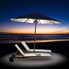 Solar Powered Patio Umbrella Led Lights by Dozyant Patio Led Umbrella Pole Lights For Outdoor Pole Light