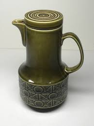 Beswick Vintage Green Coffee Pot 1 Of 3 See More