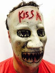 Purge Mask Halloween Uk by Rubber Johnnies Tm Kiss Me Mask Latex Fancy Dress Election Day