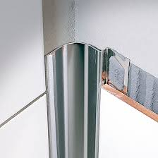 stainless steel edge trim for tiles inside corner sanitec rs