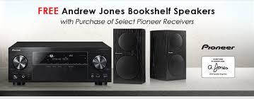 Newegg Free Andrew Jones Bookshelf Speakers with Purchase of