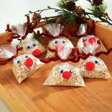 Christmas Art And Crafts Ideas For Teachers Food Craft Edible Kids Candy Gift Boxes Granola Reindeer