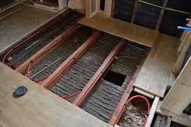 Pex Radiant Floor Heating by Work On The Upstairs Bathroom Continues St Paul Haus