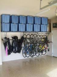 Monkey Bars Garage Storage Systems fers Solutions for Organizing