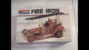 100 Fire Truck Model Kits FIRE IRON Vintage Built For The 2018 Tom Daniel Tribute YouTube