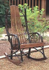 Cedar Outdoor Rockers Hickory Rocking Chairs Amish And