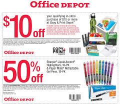 fice Depot Coupons $10 off $10 at Copy & Print Depot