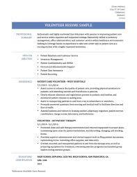 Resume Examples Volunteer Rh Hazloenmac Com Adding Work To Sample