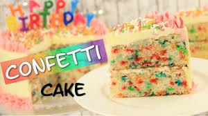 rezept confetti cake konfetti kuchen funfetti cake geburtstagskuchen