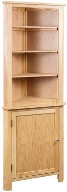 vidaxl eiche eckschrank 59x36x180cm schrank holzschrank regal küche wohnzimmer