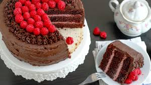 Ultimate Red Wine Chocolate Raspberry Cake Recipe