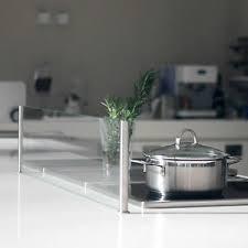 details zu spritzschutz protect spritzschutz küche herd esg glas kochinsel 800x200