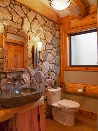 Rustic Cabin Bathroom Lights by Cabin Style Decorating Ideas Rustic Bathroom Designs Rustic