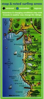 Santa Cruz Surfing Map