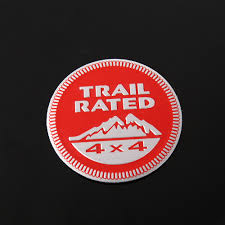 Car Sticker 3D Emblem Trail Rated Badge Truck Parts 4 Colors For ... New Arrivals Guaranteed Auto Truck Parts Inc Ford F150 4x4 Okc Ok 4 Wheel Youtube Off Road The Build Rc 1 5 Gp 26cc 2 4ghz Gtb Gtx5 2013 Ram 2500 Kendale 1972 Chevrolet 4x4 Short Bed Sold 951 691 2669 Designs Of 1968 Arrma Swb Granite Chassis Aar320398 Rc Car Jasper And Nissan Pickup Amazing Photo Gallery Some Information Classic Buyers Guide Drive Rd Offroad Jeep Bumpers Lift Kits 1980 Toyota Pickup 44 Mailordernetinfo