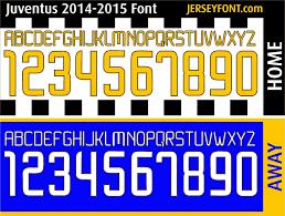 Juventus Font 2014 2015 Fontai Pinterest