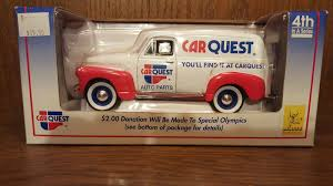 100 1952 Chevy Panel Truck UPC 715236117346 Car Quest Delivery Coin Bank Hvy
