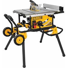 DeWalt DWE7491RS 10Inch Jobsite Table Saw With Rolling Stand The