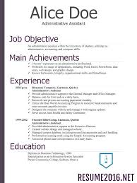 General Resume Examples 2016 Feat Best Solutions Of Functional Template Stunning Format Tips Example For Hospital Administration Frame