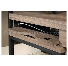 Sauder L Shaped Desk Instructions by Sauder Transit Outlet Collection Multi Tiered L Shaped Desk 42 1