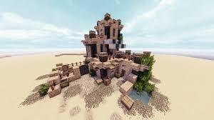 100 Desert Nomad House Nomad Fantasy Outpost Simple Minecraftbuilds